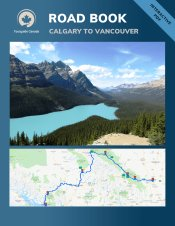 road book Calgary to Vancouver