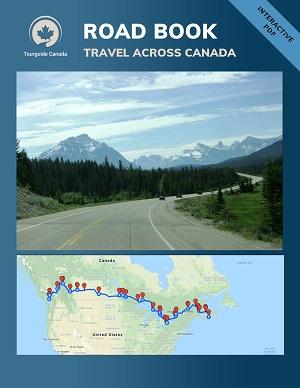 Roadbook Dwars door Canada