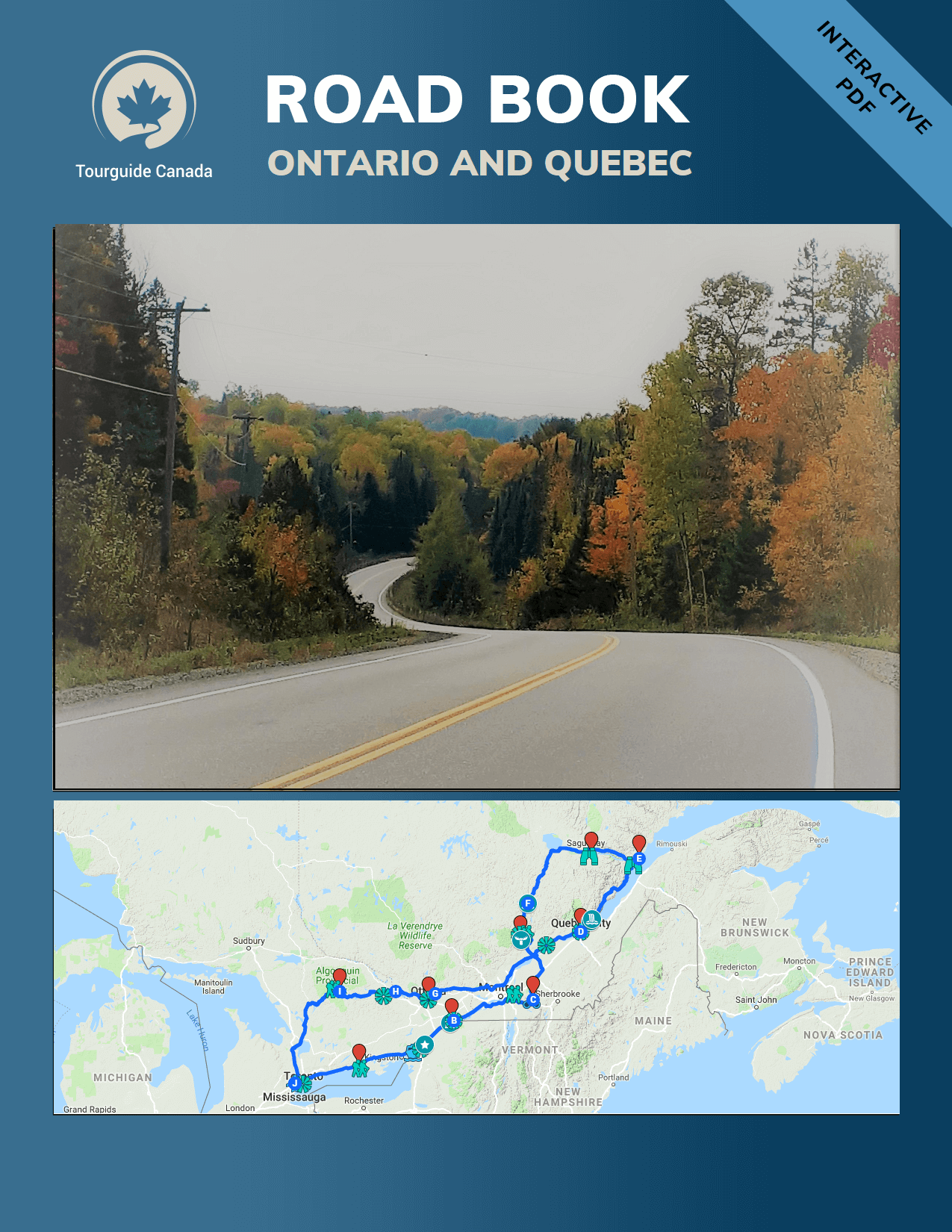 purchase Road Book Ontario - Quebec