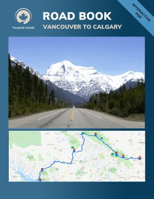 Ebook: Road Trip - Vancouver to Calgary