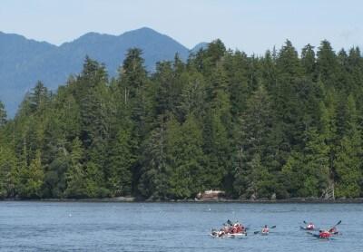 sea kayaking canada