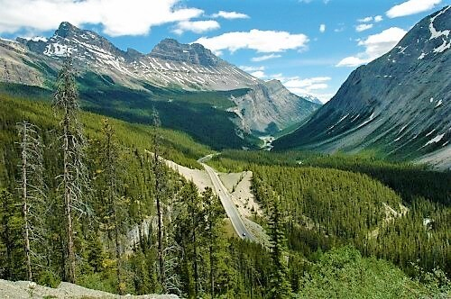 road trip Rocky Mountains