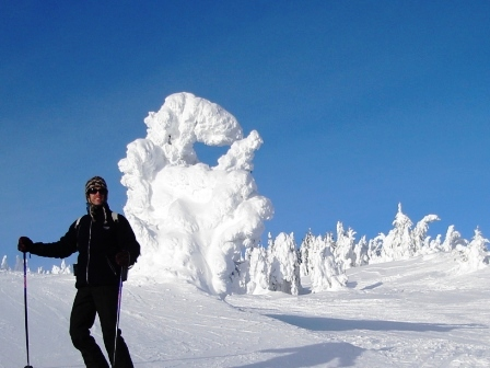 Sun Peaks is one of the great ski areas in Canada