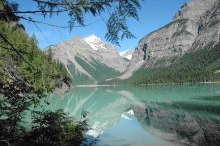 Kinney Lake, Mount Robson