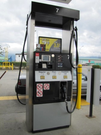 canadian gas price