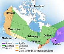 climate zones canada