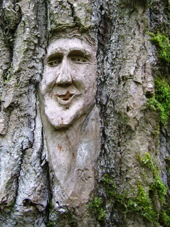 ferry island wood carving