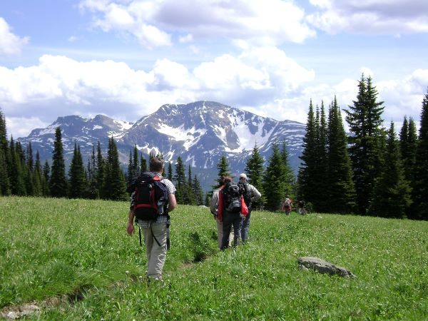 guided hiking Wells Gray Park
