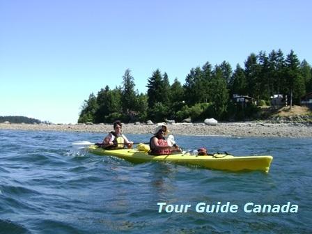 kayaking in Britisch Columbia