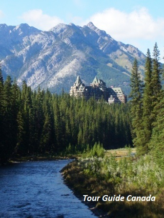 View at Banff Spring Hotel