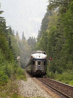 train travel Canada
