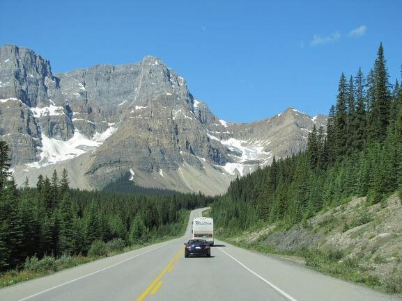 icefields parkway jasper national park