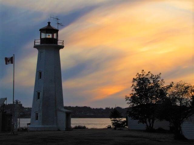 Sunset at Quadra Island