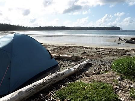 backcountry campsite