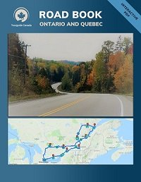 road book Ontario and Quebec
