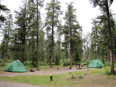 Parks Canada campground