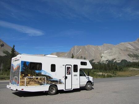 rental RV Canada