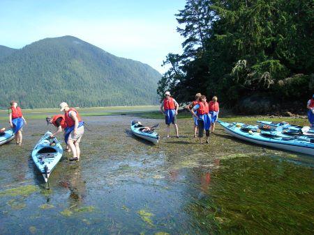 guided kayak trip canada