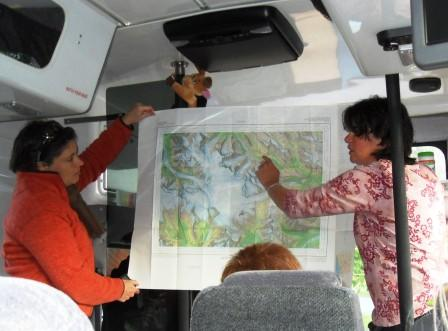 tour guide on board